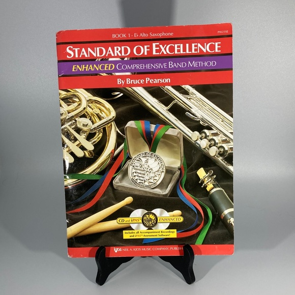 Standard of excellence book 1 Alto Sax- learner